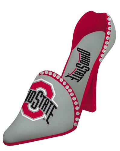 Team Sports America Ohio State University High Heel Shoe Bottle Holder