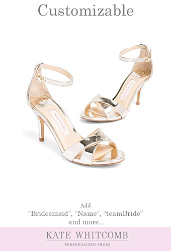 "Bridesmaid Shoes -""Patent-Pending"" - Style Liz in Gold"