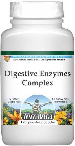 Digestive Enzymes Complex Powder - Boldo, Goldenseal, Gentian and Alfalfa (1 oz, ZIN: 512004)