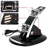 USB Charging Charger Dock Stand For Sony PS3 Controller