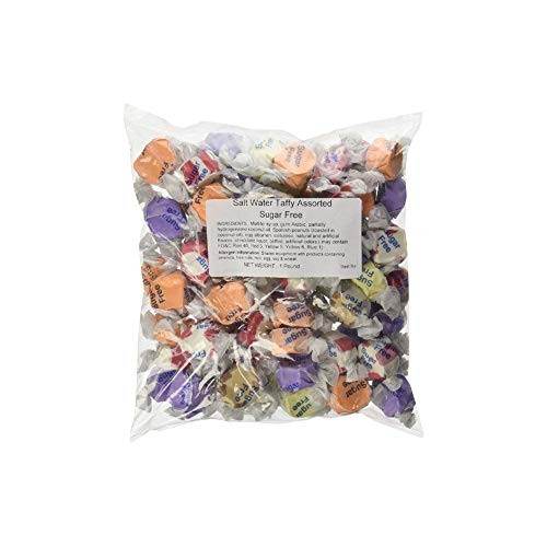 Sugar Free Assorted Salt Water Taffy 1lb by Sweets