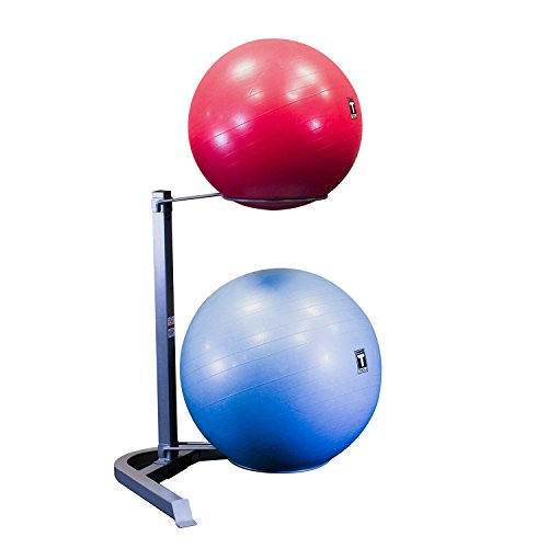 Body Solid Stability Ball Rack, Grey/Black