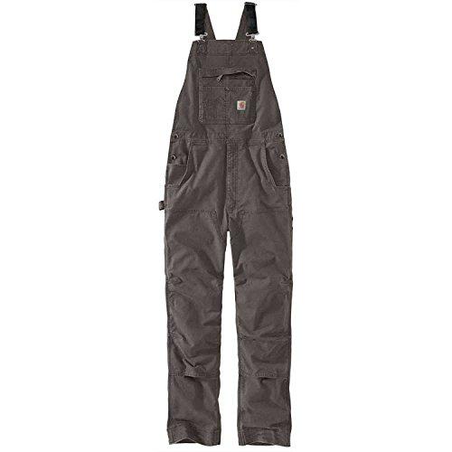 Carhartt Mens Overalls - Carhartt Men's Rugged Flex Rigby Bib, Gravel, 36W X 32L