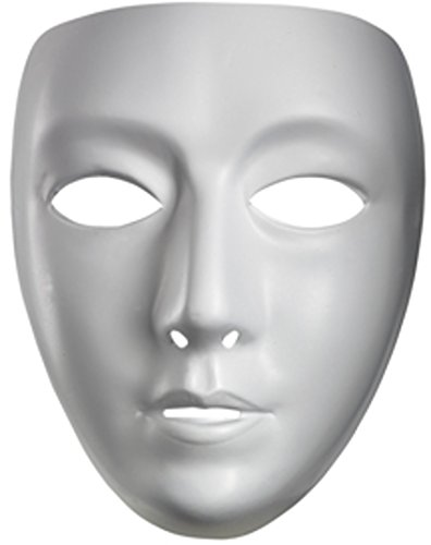 Halloween Spa Promotions (Disguise Costumes Blank Female Mask,)