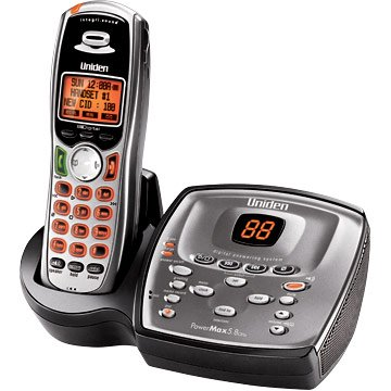 Uniden TRU9480 5.8GHz Cordless Phone Expandable Digital Answering System