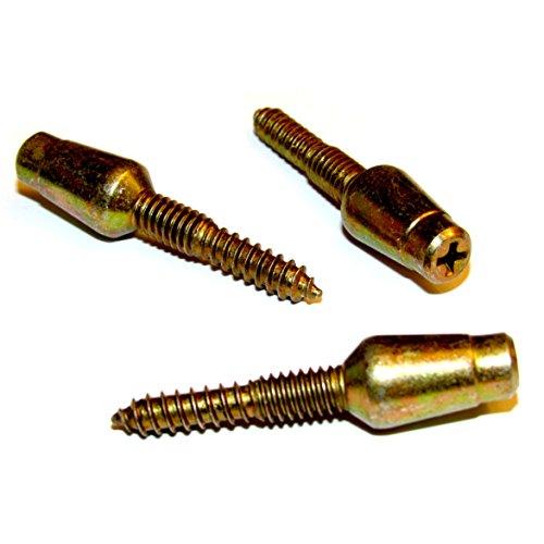 Pin Hinge Plate (Door Hinge Security Pins / Screws / Stud, 3-Pack Kit)
