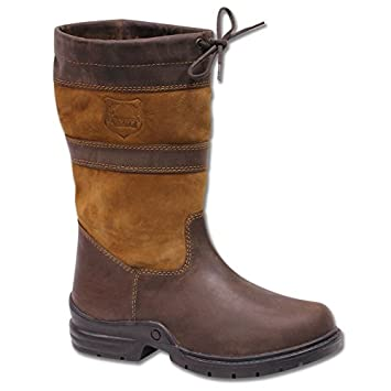 3f782541737 Waldhausen Horse Riding Ladies Men Waterproof Country Leather Walking  Outdoor Boots.