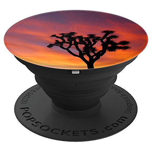 Joshua Tree . Desert Sunset Joshua Tree Design. - PopSockets Grip and Stand for Phones and Tablets
