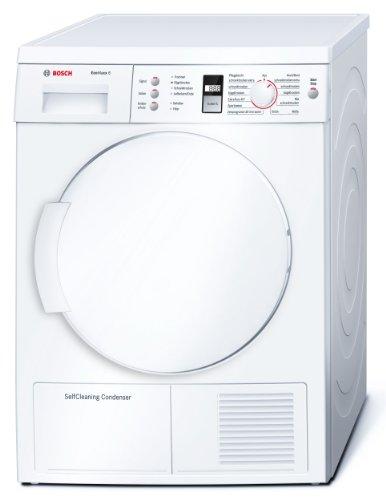Bosch WTW84361 Warmepumpentrockner Eco Maxx 6 A Kg Weiss Einknopf Bedienung Amazonde Elektro Grossgerate