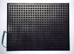 エラストマット ESD 小サイズ600mm×450mm×厚さ11mm B004U8KULC 12600