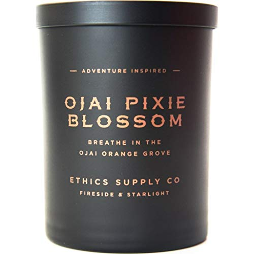 ETHICS SUPPLY CO Candle Ojai Pixie Blossom, 11 Ounce