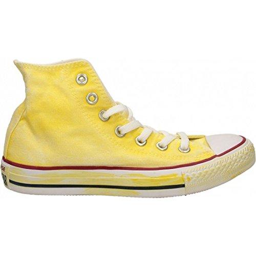 Converse Chuck Taylor All Star Core Hi, Unisex - Erwachsene Sneakers  40 EU|Neon Yellow