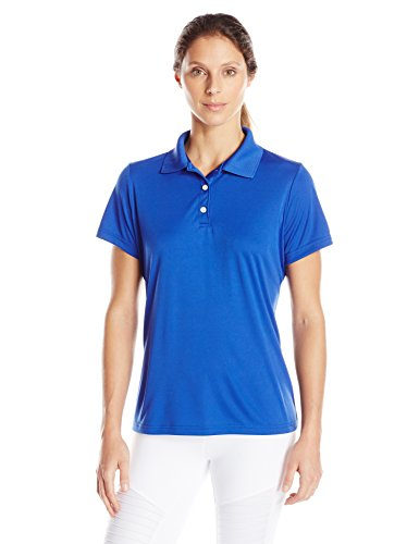 Hanes Sport Women's Cool DRI Performance Polo,Deep Royal,X-Large