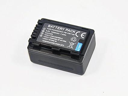 VW-VBT380 VW-VBT190 baterí a para Panasonic vwvbt380 VW-VBT190 vwvbt190 HC-V110 V160 V180 W570 W580 W850 WX979 WX90 WX970 wx990 wxf990 wxf999 V210&