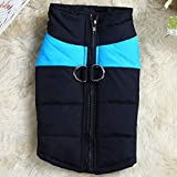 Como Winter Dog Vest Fashion Pet Down Jacket Warm Cotton Dog Clothes for Most Dogs