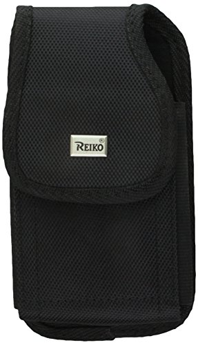 Price comparison product image Reiko Horizontal Pouch Case for Samsung Galaxy S5 - Retail Packaging - Black