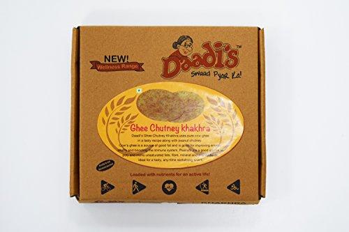 Daadi's Chutney Khakhra, Ghee, 200g (Pack of 2)