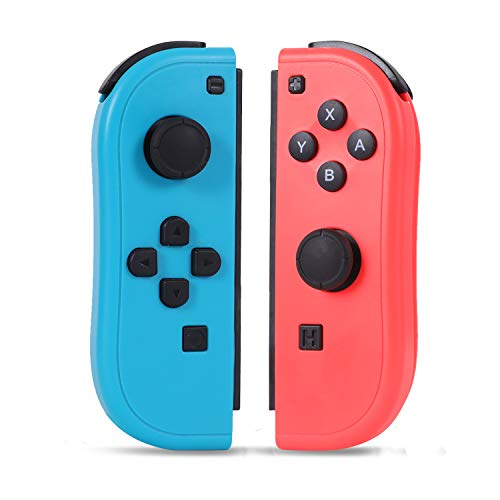 SogYupk Joy-Pad Controller Compatible with Switch Joycon,Switch Gamepad with Dual Vibration Motor Gyroscope, with Strap and Support Wake-up Function