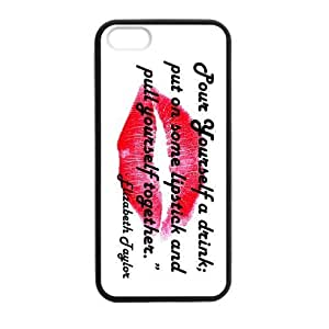 DaojieTM Generic Sexy Lips Lipstick Custom Case for Iphone 4/4s Hard Plastic Shell (Laser Technology)