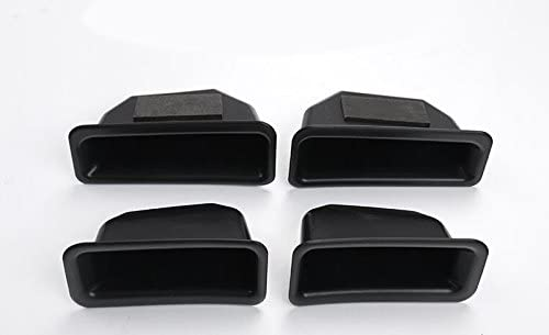 HIGH FLYING 4pcs Door Inner Armrest Storage Glove Box Organizer Container For Ford Explorer 2016 2017 2018