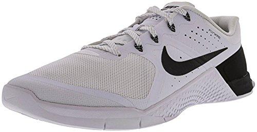 Nike Mens Metcon 2 Tb Scarpa Da Corsa Alla Caviglia Bianca / Nera - Nera