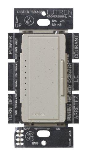 Lutron MSC-600M-ST Maestro 600-Watt Multi-location Dimmer Stone