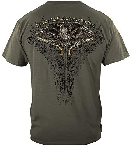 2nd Amendment 2Nd Amendment Eagle Tatto T-Shirt ADD-RN2256XL