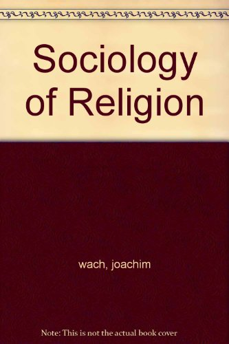 Sociology of Religion