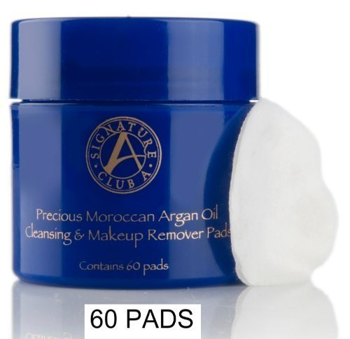 Signature Club Argan Oil Makeup Remover Pads (60 Pads) by Signature Club A