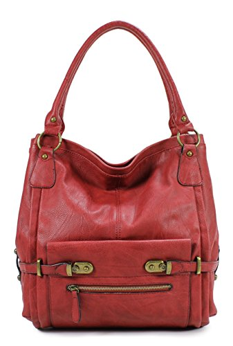 Scarleton Shoulder Bag H114810 - Red