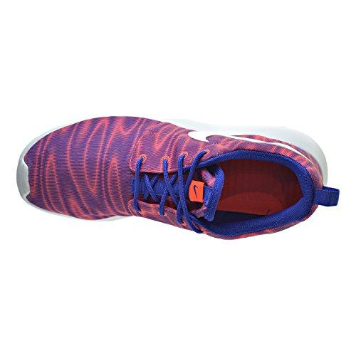 Zapatillas Mujer Nike Roshe One Print Total Crimson / Concord 599432-886
