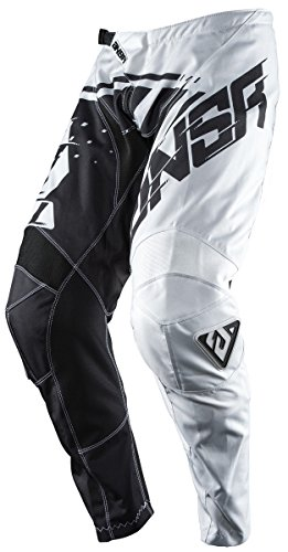 Answer Racing A18 Syncron Youth Boys Off-Road Motorcycle Pants - Grey/Black / Size 26