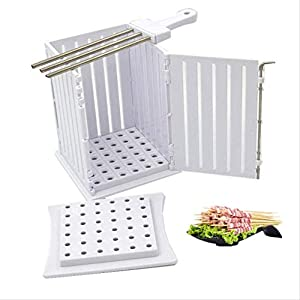 Barbecue Kebab Maker carne brochettes Spiedino macchina Barbecue Accessori Attrezzi accessori for la casa Set di giardino domestiche cfbcc 9 spesavip