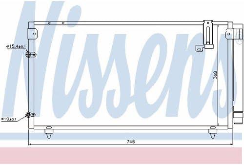 Klimaanlage Nissens 94795 Kondensator