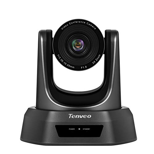 Tenveo NV3U Conference Room Camera 3X Optical Zoom Full HD 1080p USB PTZ Video Conference Camera