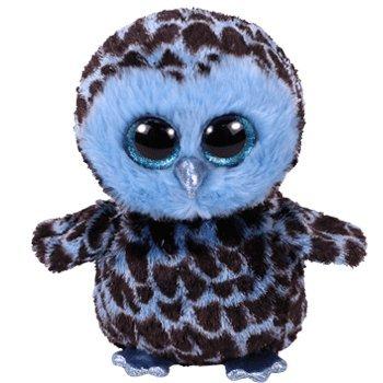 Beanie Baby Owl (TY Beanie Babies The Beanie Boo's Collection Yago the Owl.)