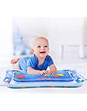 Baby Water Mat for Infants & Toddlers Early Development Activities, Inflatable Tummy Time Water Mat for 3 6 9 Months Newborn Boy Girl, Baby Play mat for Baby's Stimulation growth