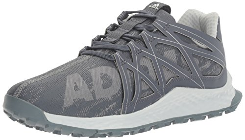 adidas Men's Vigor Bounce m Running Shoe, Grey/Onix/Metallic/Silver, 12 M US