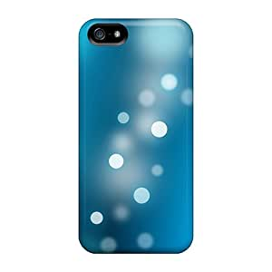 New Arrival Blue Spot Bokeh For Iphone 5/5s Case Cover