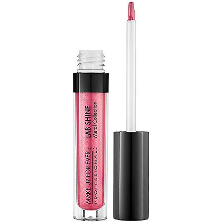 Lab Shine Star Collection (MAKE UP FOR EVER Lab Shine Lip Gloss - CHROME CANDY M14)