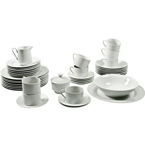 10 Strawberry Street Simply Round 45 Piece Dinnerware Set, ()