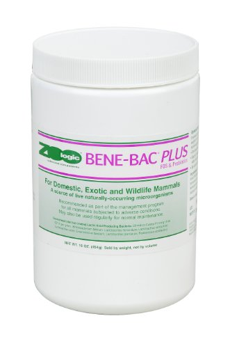 Bene-Bac Plus Prebiotic Powder for Mammals, 1-Pound