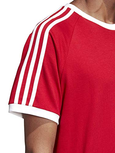 shirt hommes 3 Adidas T Power Red bandes pour p6ngq