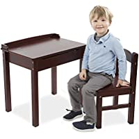 Melissa & Doug Desk & Chair - Espresso Childrens Furniture