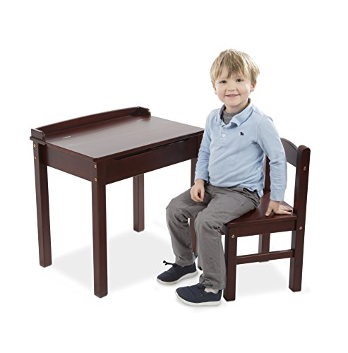 Melissa & Doug Desk & Chair - Espresso Children's Furniture