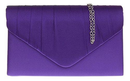Para Mujer Mano Cartera Handbags Morado De Girly zf7RqR