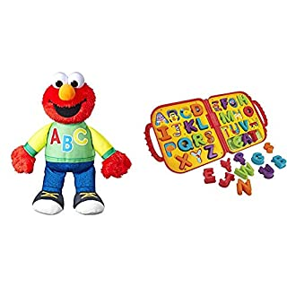 Playskool Sesame Street Singing ABC's Elmo & Elmo's On The Go Letters