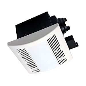 Airzone fans pa900vle premium ultra quiet exhaust ventilation fan with 18w fluorescent lamps and for Ultra quiet bathroom exhaust fan with light