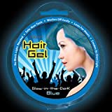 Iglow Temporary Glow in the Dark Hair Gel (Blue)