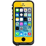 LifeProof FRE iPhone 5/5s Waterproof Case - Retail Packaging - YELLOW/BLACK (Discontinued by Manufacturer)
